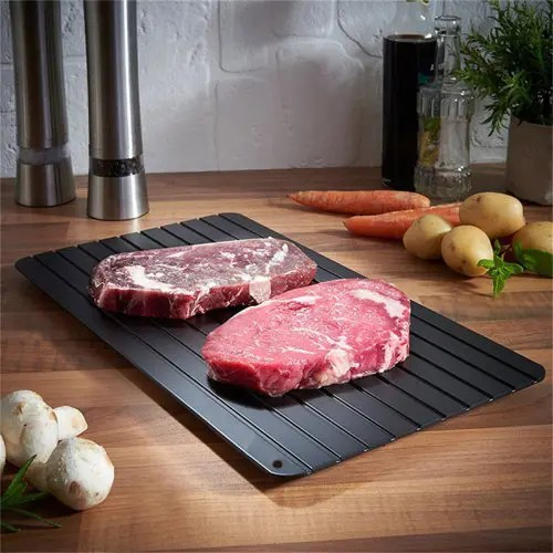 Non-stick Kitchen Fast Defrosting Tray