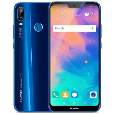 Gearbest HUAWEI P20 Lite 4G Phablet Global Version - BLUE 4GB RAM 64GB ROM 24.0MP Front Camera Fingerprint Sensor