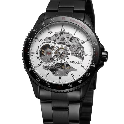 Winner Fashion Durable Mechanical Watch for Man