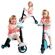 3 in 1 Children Scooter Tricycle Balance Bike Riding Toy 1pc