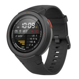 Gearbest Xiaomi Amazfit Verge 1.3 inch Smart Watch Chinese Version - CARBON GRAY promotion
