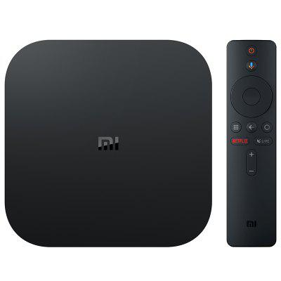 Xiaomi Mi Box S avec 4K HDR Android Lecteur Multimédia en Streaming TV et Assistant Google à Distance Version Internationale Officielle