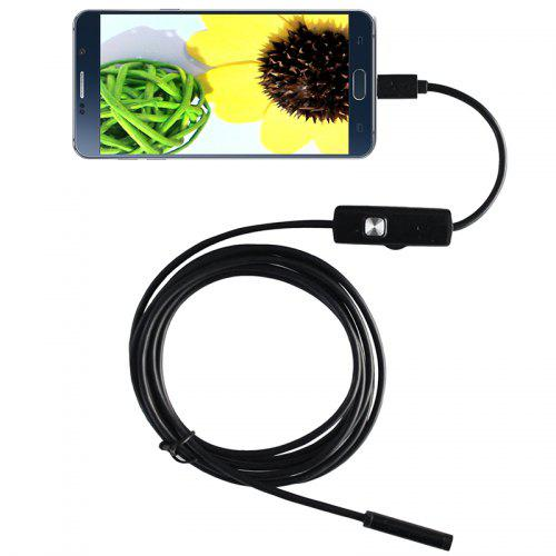 Dodosee A7TR5 1.3 Million Pixel 5m Cord 7mm Lens Industrial Endoscope Auto Repair Pipeline Unlocking Maintenance Camera