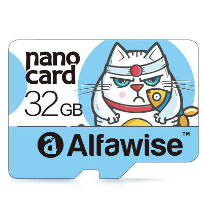 Alfawise 32GB Micro SD Class 10 UHS1 Memory Card LIGHT BLUE 32GB