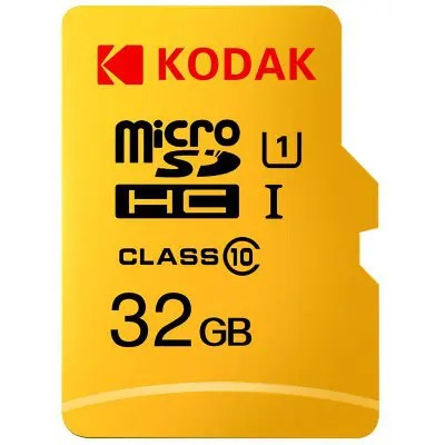 Gearbest Kodak High Speed U1 TF / Micro SD Memory Card 16GB / 32GB / 64GB / 128GB