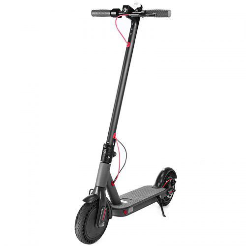 POMeIo P8 Folding Electric Scooter Solid Shock Absorber Tire Cute