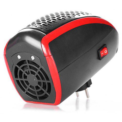 Office Home Electric Heater Portable Mini Remote Control Heater Socket Heater