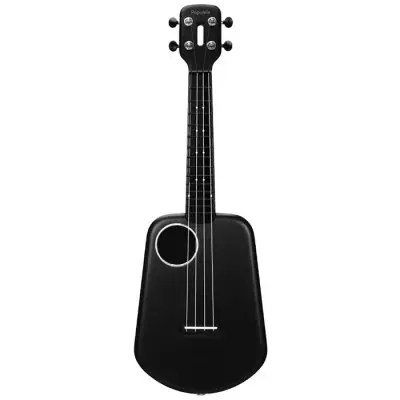 Gearbest Populele 2 LED Smart Ukulele for Beginners Bluetooth Guitar from Xiaomi youpin - Black