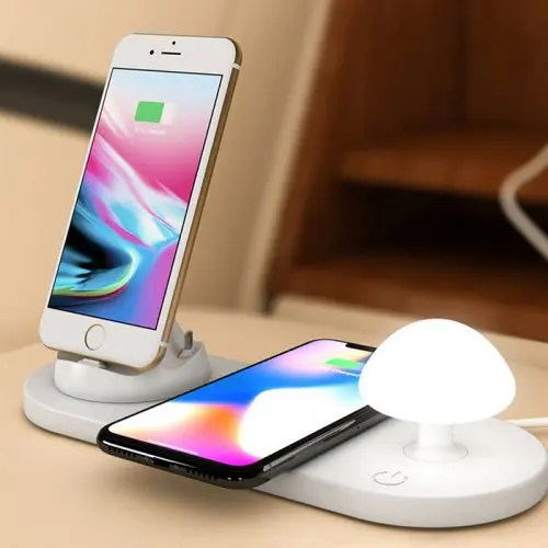 Utorch B06 Creative Wireless Fast Charging USB Touch Night Light