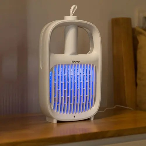 Beamday SB - 6082 2-in-1 Electric Mosquito Killer Lamp Swatter Bug Zapper