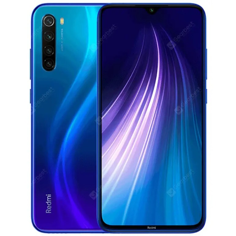Xiaomi Redmi Note 8 4G Phablet Global Version-blue 3+32Go - 142.98€