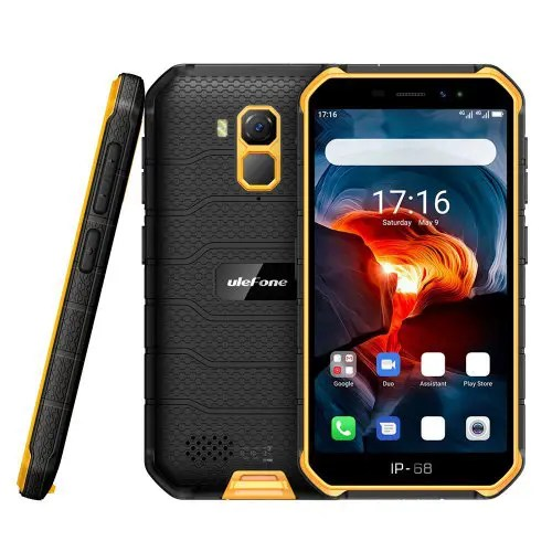 Ulefone Armor X7 Pro 4G Smartphone 5 inch Android 10 MT6761 4GB RAM 32GB ROM 13MP Rear Camera 4000mAh Battery IP68 Waterproof Global Version