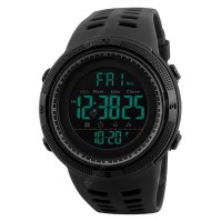 SKMEI Men Sports Watches Countdown Double Time Alarm Chrono Digital Wristwatches