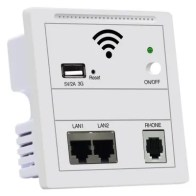 Network Cable Socket Embedded Wall AP