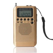 for Portable External Loudspeaker Mini AM FM Two Band Radio