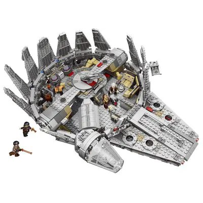 War Series Compatibility Millennium Falcon Figures Building Model Toy 1831PCS
