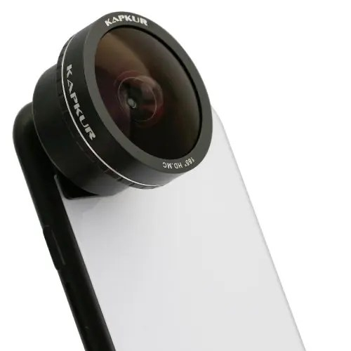 Kapkur Mobile Phone Fisheye Lens Suitable For Round Scenery For