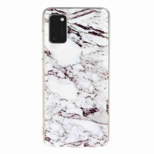 TPU Marble Painted Phone Case for Samsung Galaxy A41
