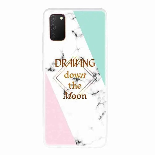 Frosted TPU Marble Painted Phone Case for Samsung Galaxy A41
