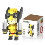 LOZ 200Pcs M - 9132 X-Men Wolverine Building Block Educational Boy Girl Gift for Spatial Thinking