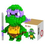 LOZ 200Pcs M - 9148 Teenage Mutant Ninja Turtles Donatello Building Block Educational Assembling Gift for Spatial Thinking