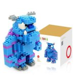 LOZ 220Pcs M - 9163 Anime Monsters University Sulley Building Block Educational Assembling Boy Girl Gift for Sparking Imagination