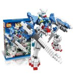 LOZ 560Pcs 9352 Wing Gundam Zero Custom Figure Building Block Educational Toy for Improving Patience