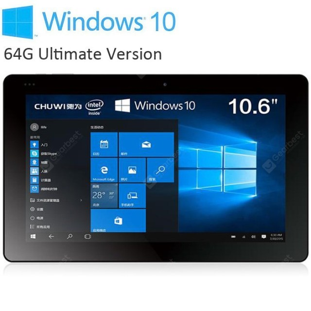 Chuwi Vi10 Ultimate Ultrabook Tablet PC 64GB ROM
