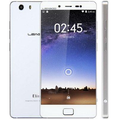 gearbest LEAGOO Elite 1 MTK6753 1.3GHz 8コア SILVER GRAY(シルバーグレイ)