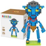 LOZ L - 9461 Jake Sully Micro Diamond Building Block 250Pcs Educational Toy