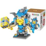 LOZ L - 9503 Warcraft Mountain King Micro Diamond Building Block 270Pcs Educational Toy