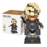LOZ 330Pcs L - 9450 The Avengers Nick Fury Figure Building Block Educational Toy for Brain Thinking