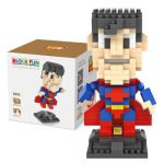 LOZ 270Pcs L - 9455 Superhero Super Man Building Block Toy for Enhancing Social Cooperation Ability