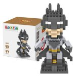 LOZ 250Pcs L - 9457 Superhero Batman Building Block Toy for Enhancing Social Cooperation Ability
