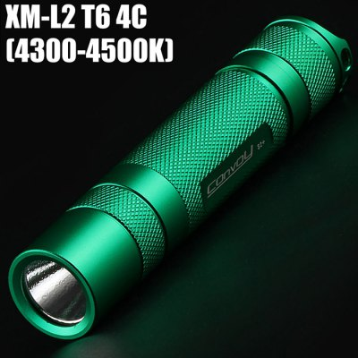 Convoy S2+ Green Flashlight