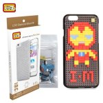 LOZ 5.5 inch Iron Man DIY Building Block Phone Case