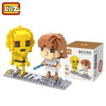 LOZ 370Pcs Star Wars Luke Skywalker and C3 - PO Robot IQ Training Family Game Perfect Gift