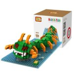 LOZ 360Pcs 9620 Pixel Wars Centipede Building Block Toy for Enhancing Social Cooperation Ability