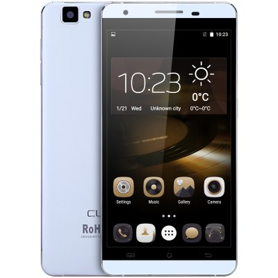 gearbest Cubot X15 MTK6735 1.3GHz 4コア WHITE(ホワイト)