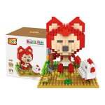 LOZ 9491 Mini Ali the Fox Diamond Building Block 350Pcs Educational Toy