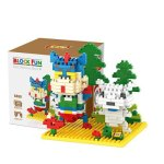 LOZ 9466 Mini Crayon Shin-chan Diamond Building Block 290Pcs Educational Toy