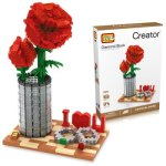 LOZ 9022 Rose Assemble Puzzle Game Intelligent Toy Present 920Pcs / Set