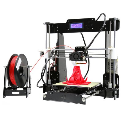 Gearbest Anet A8 Desktop 3D Printer Prusa i3 DIY Kit