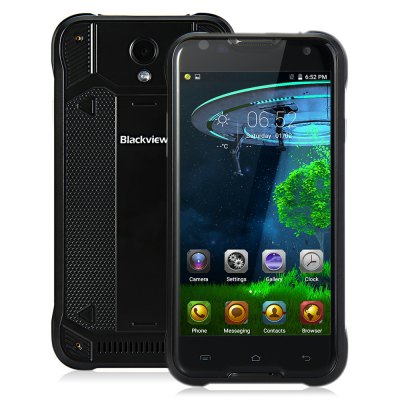 gearbest Blackview BV5000 MTK6735 1.0GHz 4コア BLACK(ブラック)