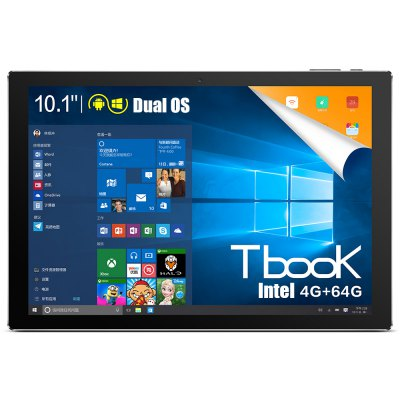 Teclast Tbook 10 Atom Cherry Trail x5-Z8300 1.44GHz 4コア