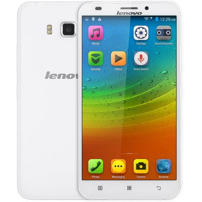 gearbest Lenovo A916 MTK6592 1.4GHz 8コア WHITE(ホワイト)