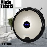 MinSu TR2015 Smart Robotic Vacuum Cleaner Dry Wet Cleaning Machine