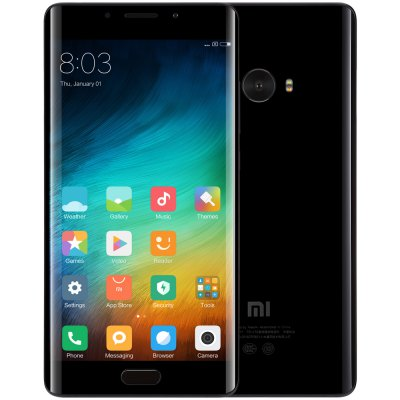 Gearbest Xiaomi Mi Note 2 Global Version 4G Phablet  -  GLOBAL 6GB RAM 128GB ROM  BLACK