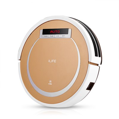 Gearbest ILIFE X5 Smart Robotic Vacuum Cleaner  -  TYRANT GOLD