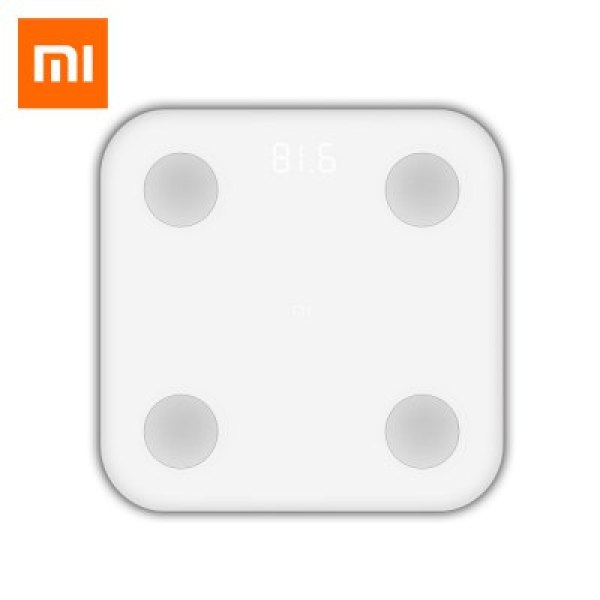 Gearbest Xiaomi Bluetooth 4.0 Smart Weight Scale - WHITE
